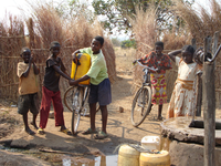 Water supply for Nyanje school in Zambia
