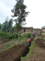 Extension of water supply system in Rwanda
