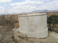 CONSTRUCTION OF THE WATER TANK.