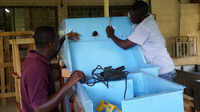 Closing the water loop for car washing stations in Ghana