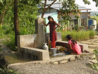 Water supply development in Nepal
