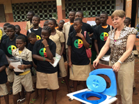 ECOSAN Benin - Sustainable school sanitation