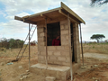 construction of water point.