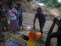 Developing a rain water harvesting system