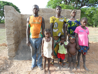 Sanitation project in Burkina Faso