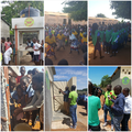 New toilets and water towers in Mozambique