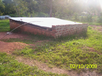 School RWH en sanitatie Mmanze
